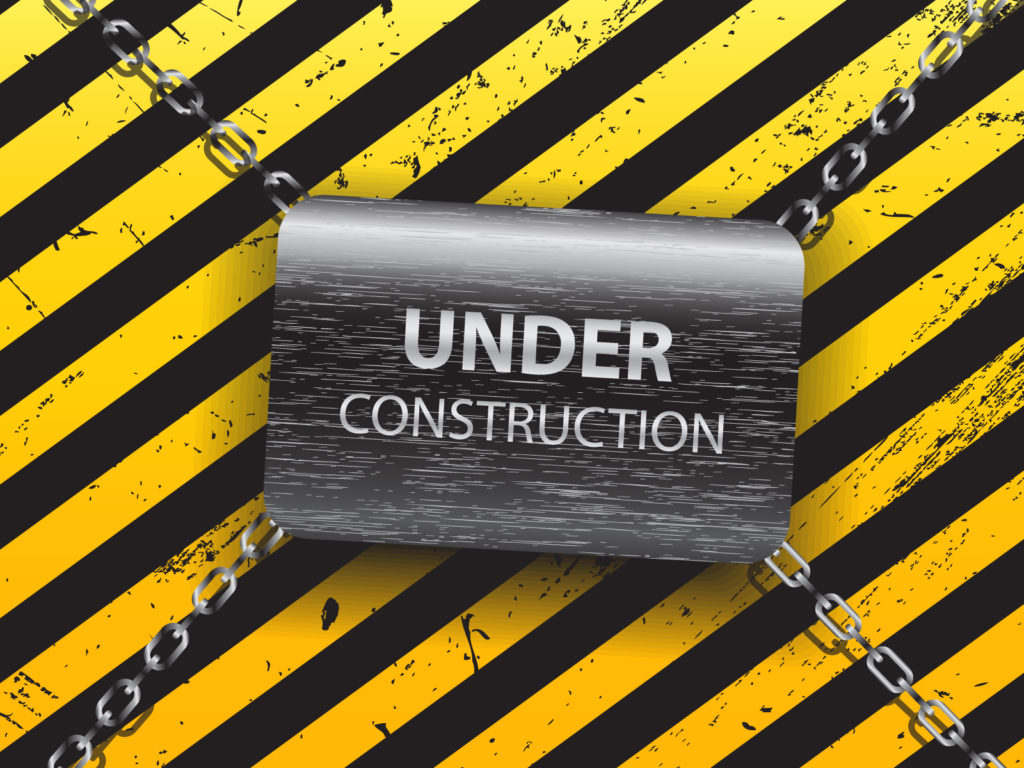 Under Construction PPT Template PPT Backgrounds - Black, Business ...