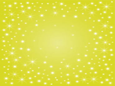 Yellow Sparkle Powerpoint