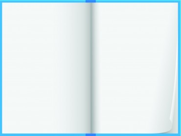 Blue note book design