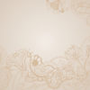 Brown Floral Vintage Background Powerpoint