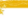 Christmas yellow Stars Backgrounds