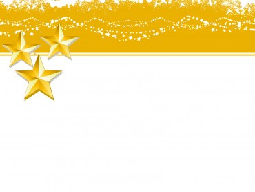 Christmas Yellow Stars