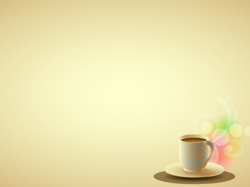Coffee Brown Powerpoint Background