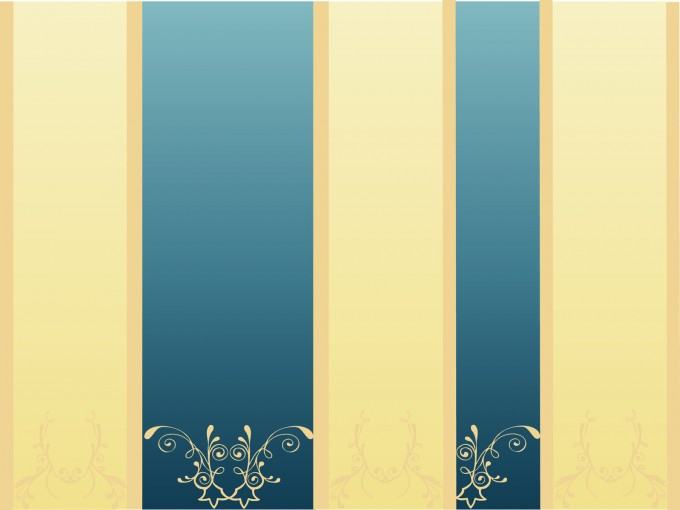 Colored Lines with motifs PPT Backgrounds