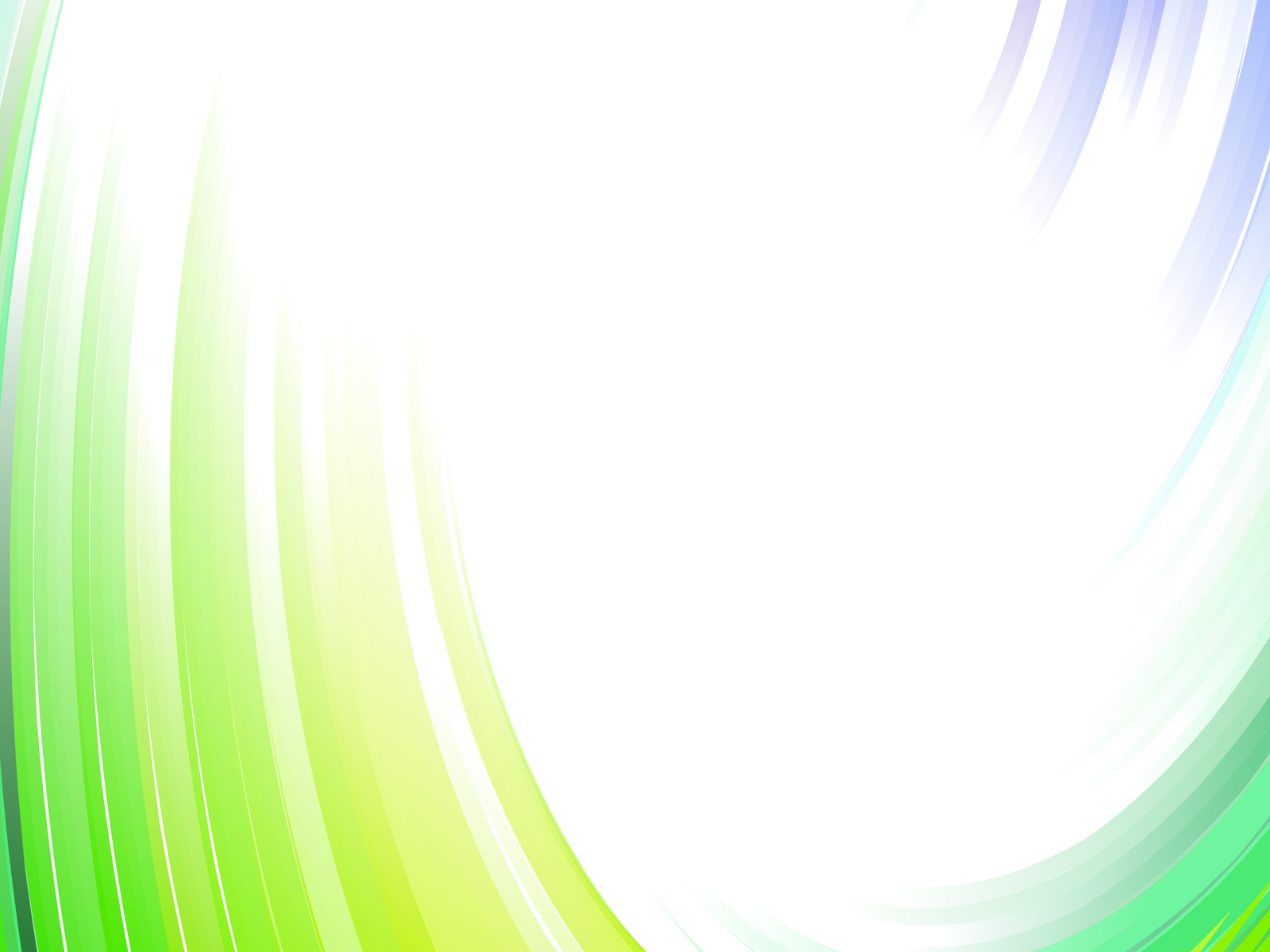 Corporative Green Waves Backgrounds Abstract Blue