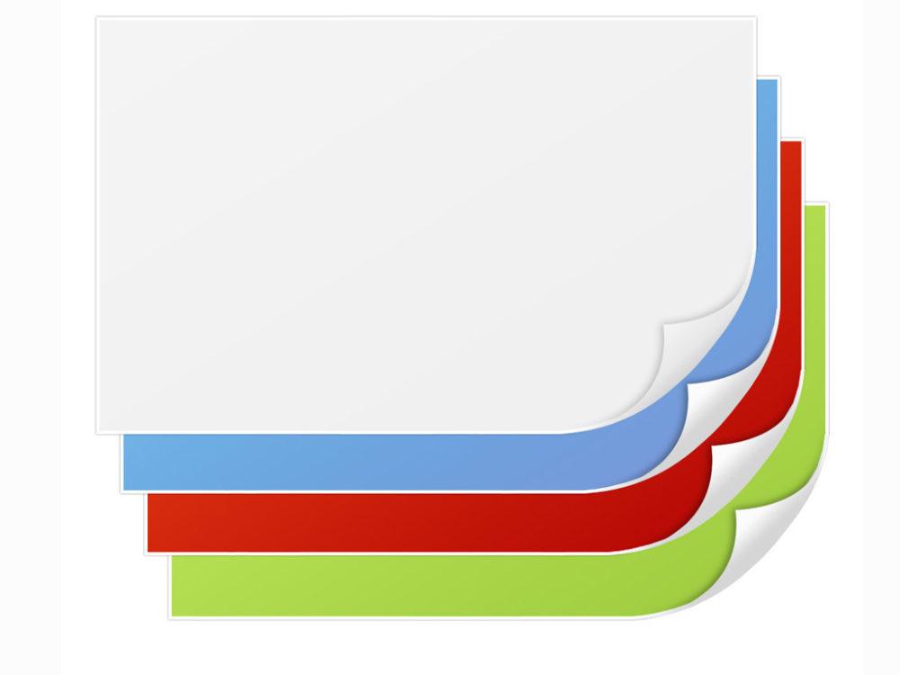 curl page texture presentation ppt backgrounds   blue