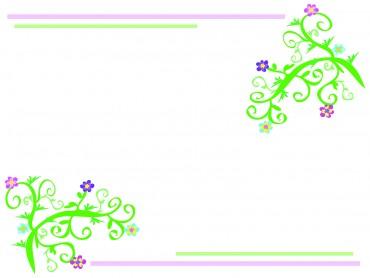 Floral Light Frame