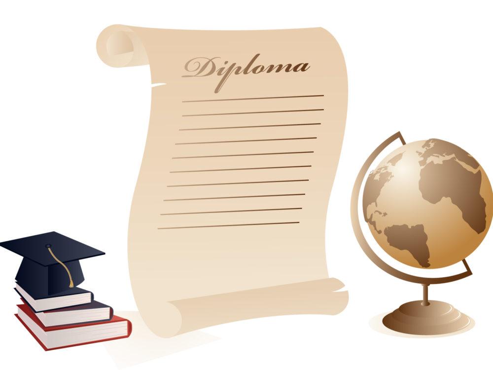 Graduation diploma letter backgrounds black brown business graduation letter powerpoint background spiritdancerdesigns Gallery