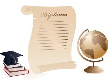 Graduation Diploma Letter Design