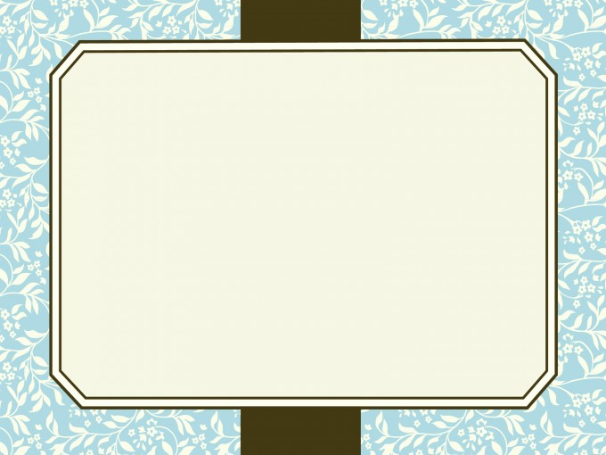 Motif Frames Presentation PPT Backgrounds