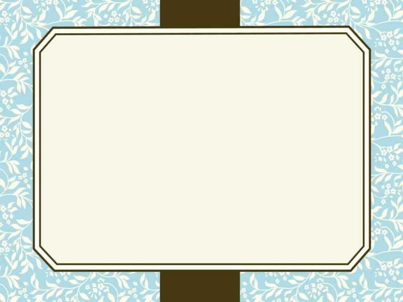 Motif Frames PPT Background