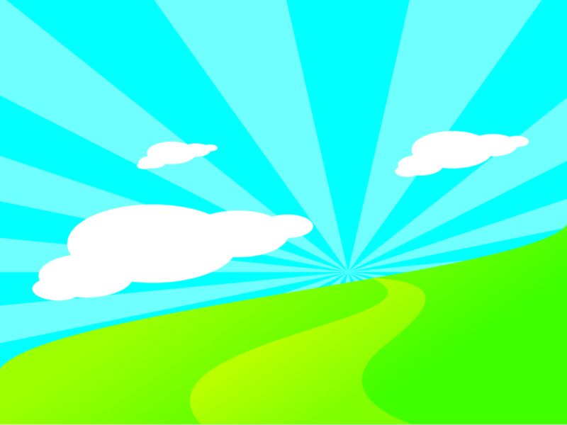 Blue Sky Nature Background