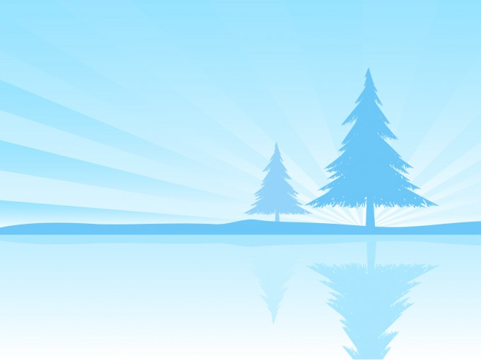 Blue natural powerpoint PPT Backgrounds