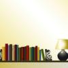 Book Shelf PPT Background