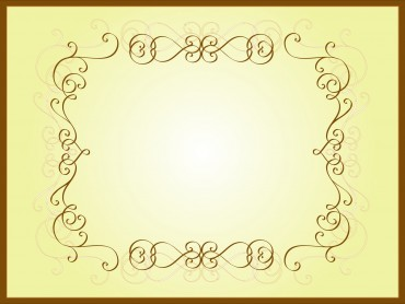 Brown Pattern Frame Presentation