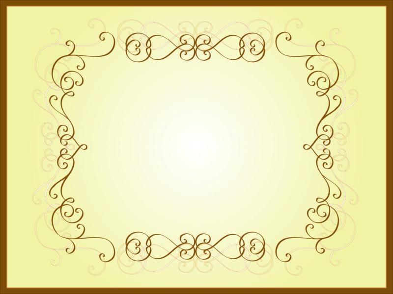 Frame powerpoint design