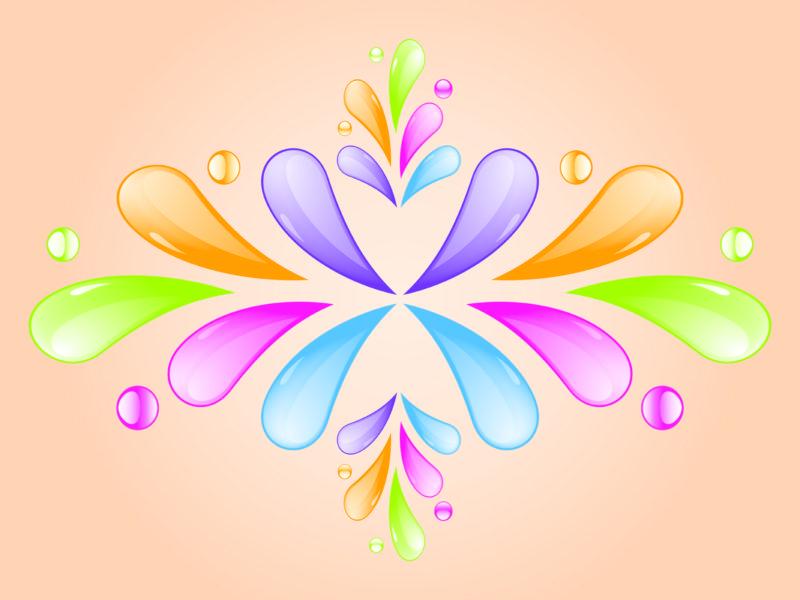 Colored Motifs Design