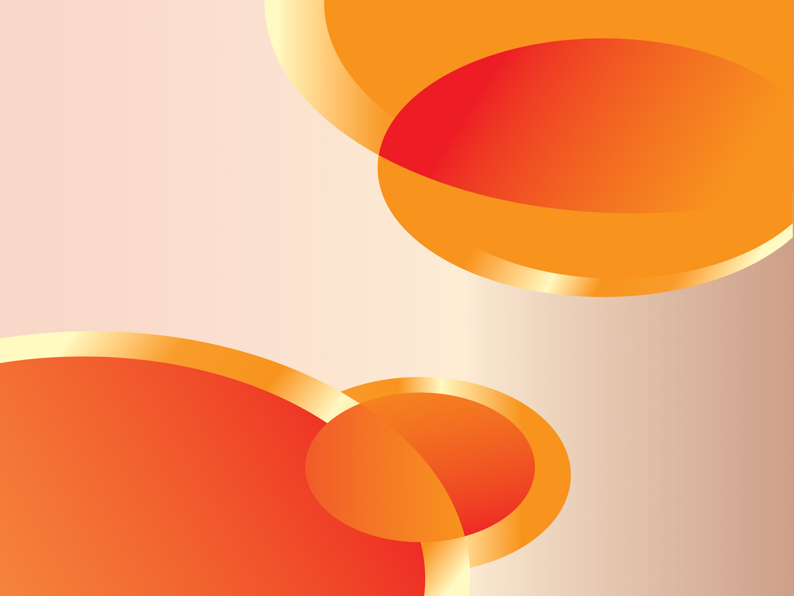 abstract orange ppt background