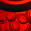 Red Circle Shapes Backgorund