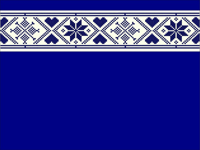 Turkish Motifs Pattern PPT Backgrounds