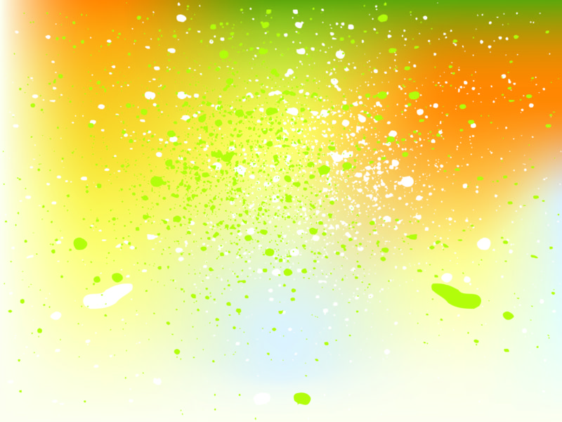 Yellow Colored Abstract Background