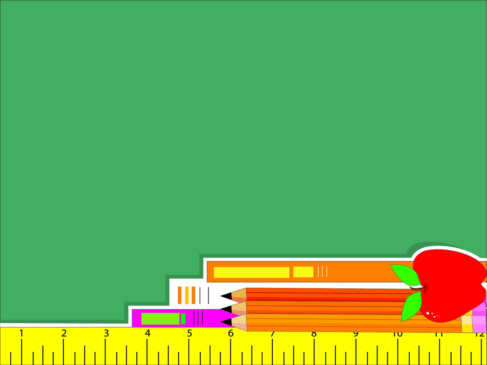 education tool package backgrounds educational green orange