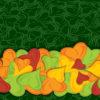 Colourful Hearth Bride PPT Background