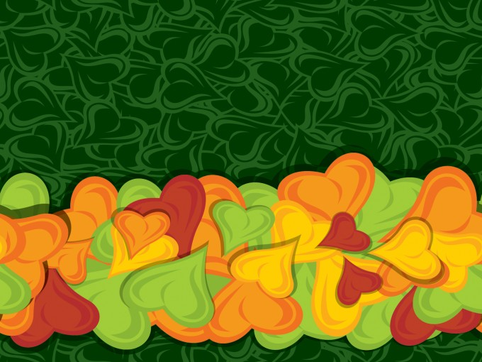 Colourful Hearth Bride PPT Backgrounds