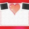 Frames of love enjoy ppt backgrounds