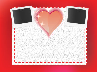 Frames of love enjoy ppt backgrounds