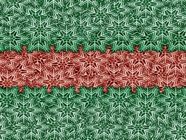 Green and red winter
