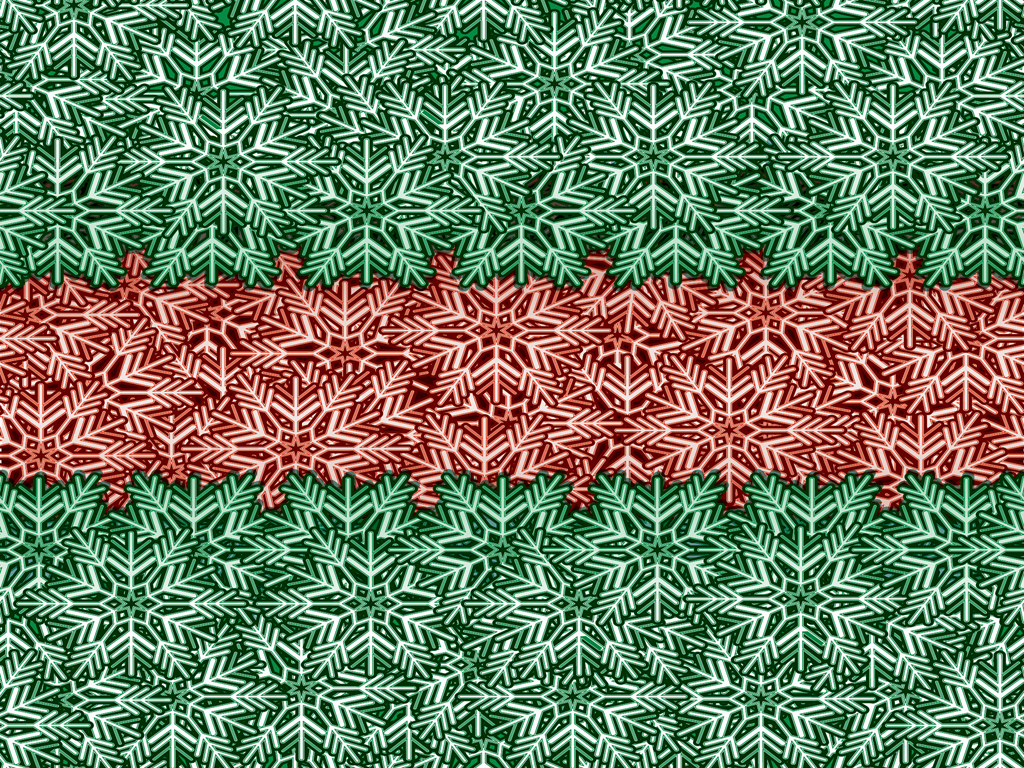 Green and red winter backgrounds