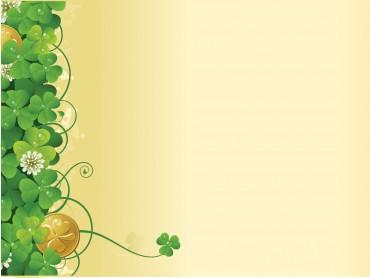 Green flower ivy spring