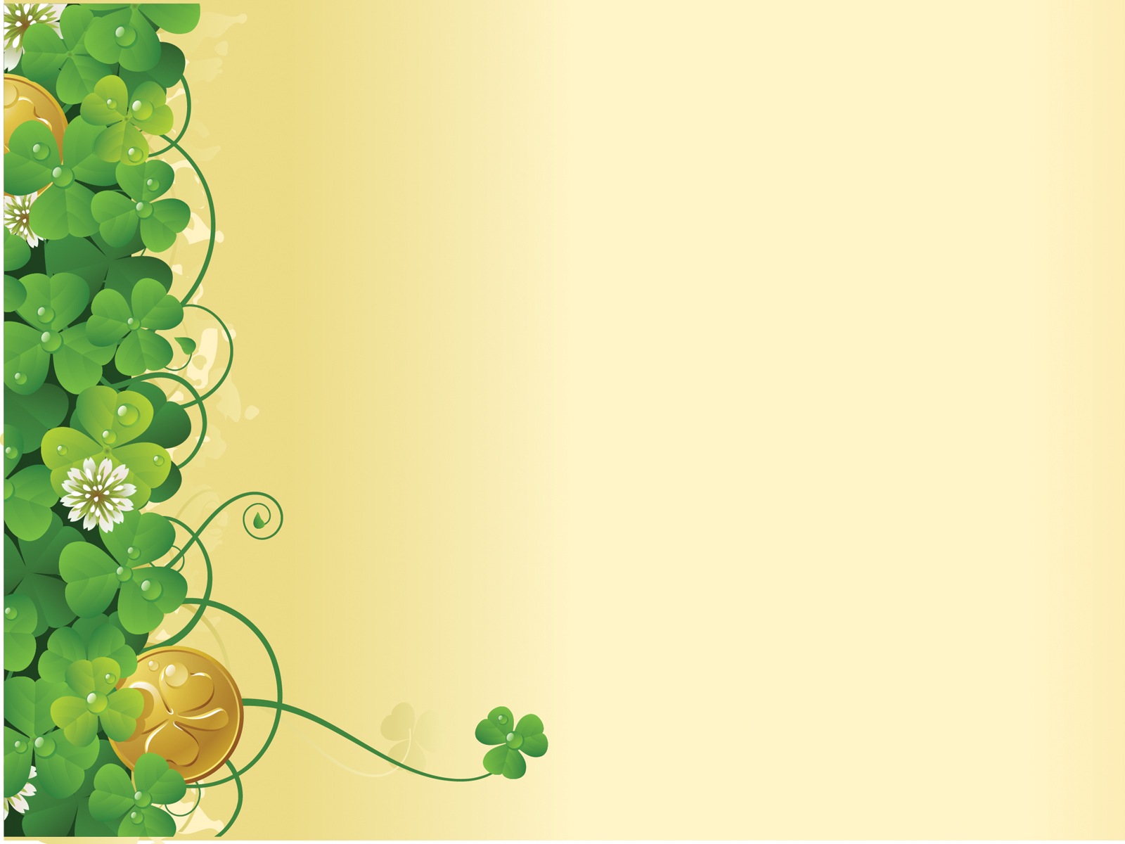 green flower ivy spring ppt backgrounds - flowers, nature, Modern powerpoint