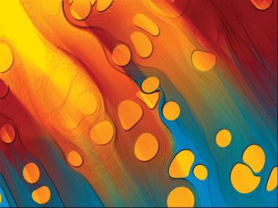 Rainbow surface abstract ppt backgrounds