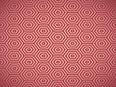 Red Pentagon Powerpoint