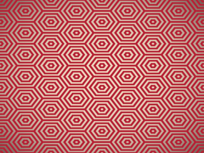 Red Pentagon Powerpoint PPT Backgrounds