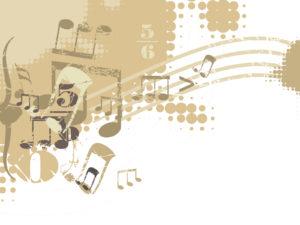 Soft Music Powerpoint Design