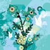 Sunflower Floral Design Backgrounds