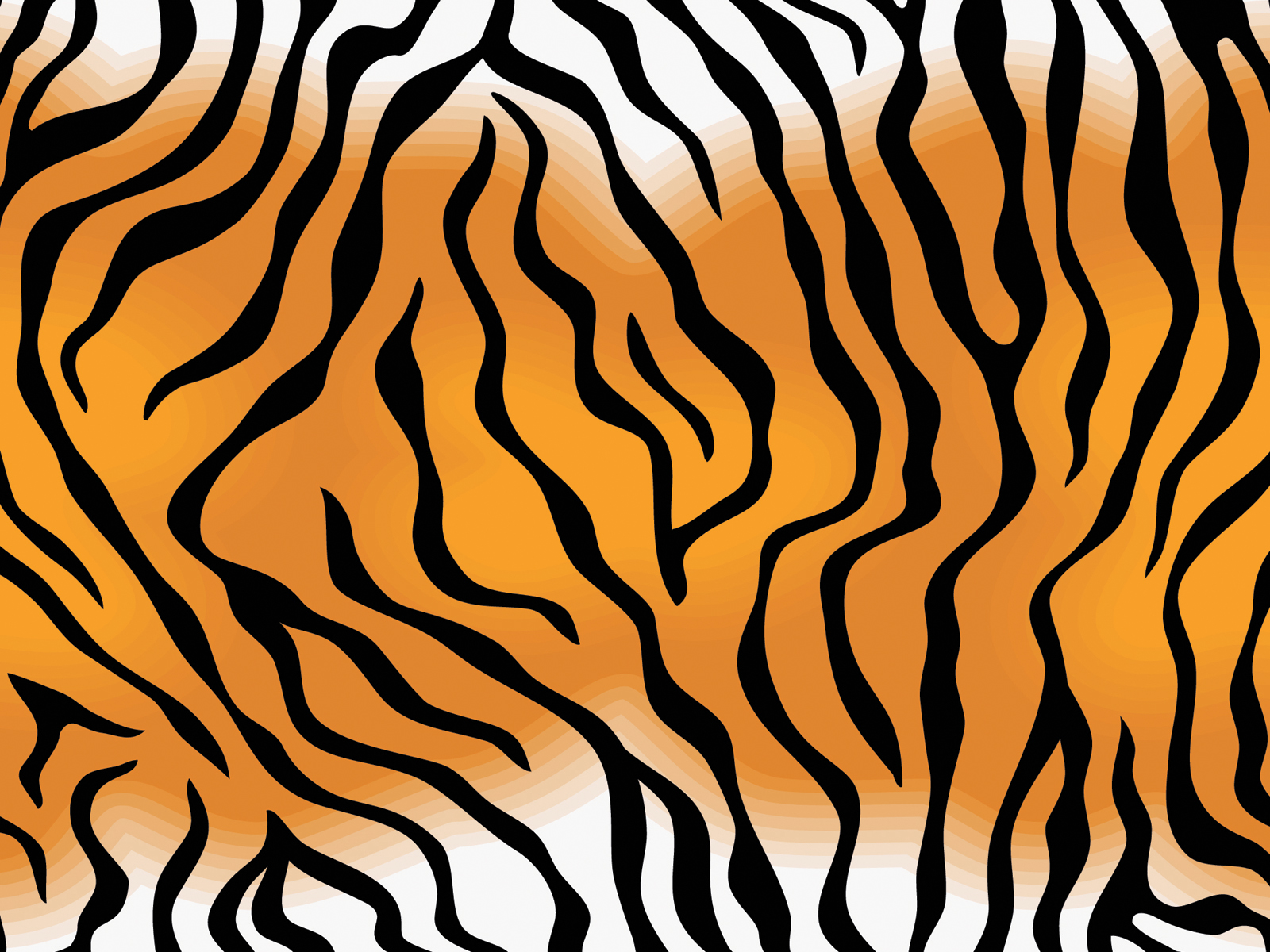 Tiger Skin Pattern PPT Backgrounds