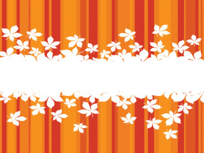 Yellow and Orange Floral Backgrounds