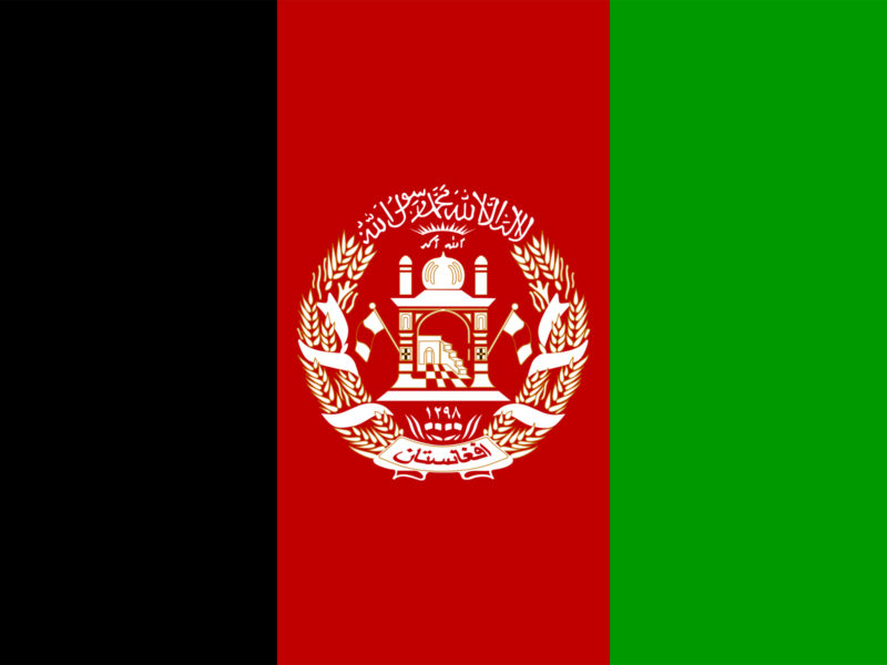 Afghanistan Flag PPT Background