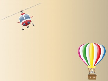 Balloon and Helicopter Aircraft