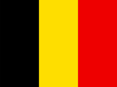 Belgium Flag PPT Backgrounds