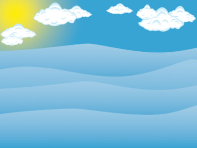 Blue Sea and Sky Powerpoint Design