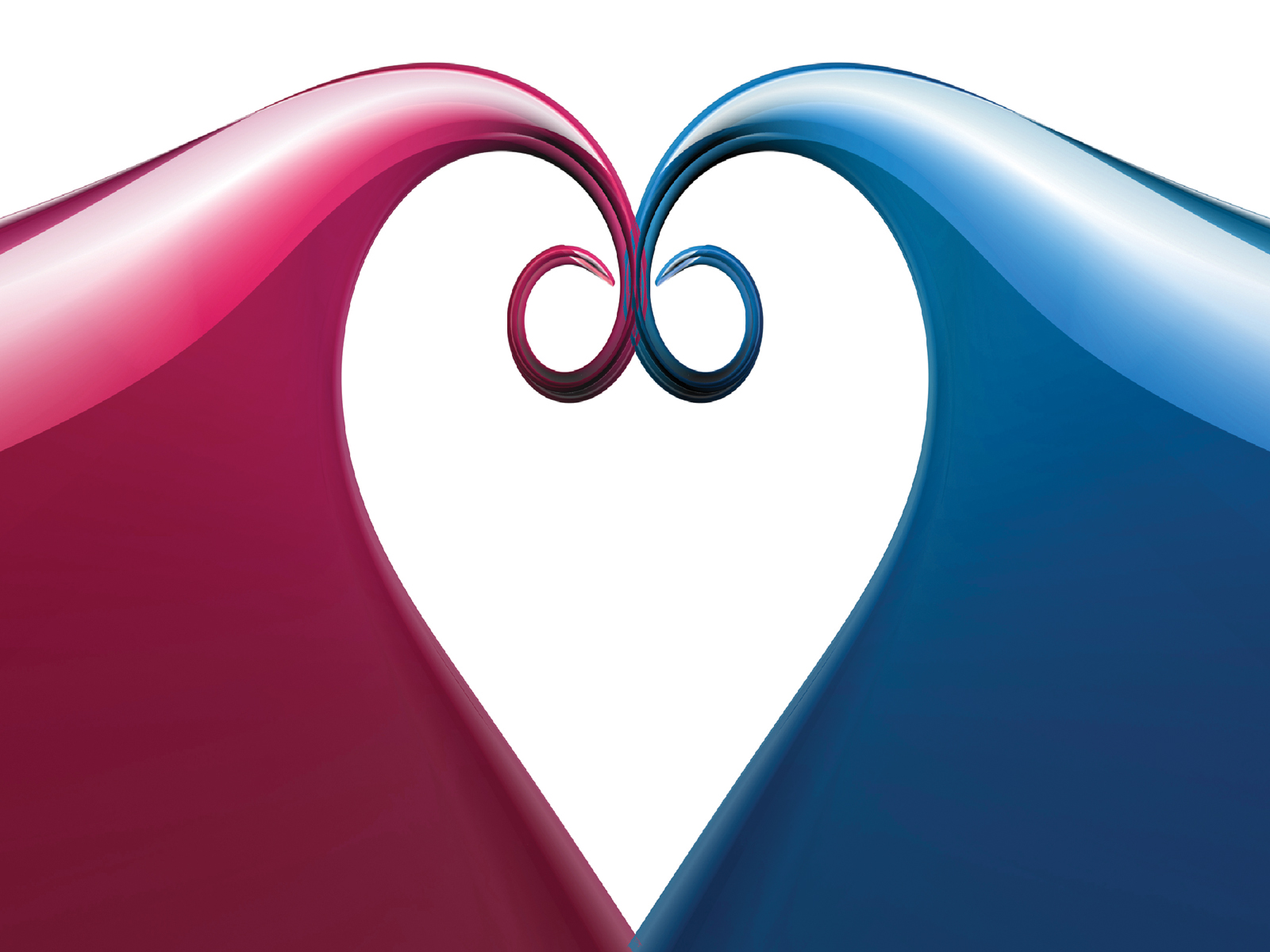 blue and red heart for love backgrounds love templates free ppt backgrounds and powerpoint. Black Bedroom Furniture Sets. Home Design Ideas
