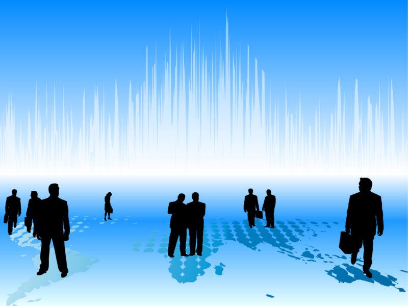 Corporation Employment Presentation Backgrounds