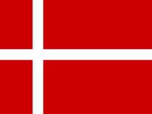 Denmark Flag PPT Background