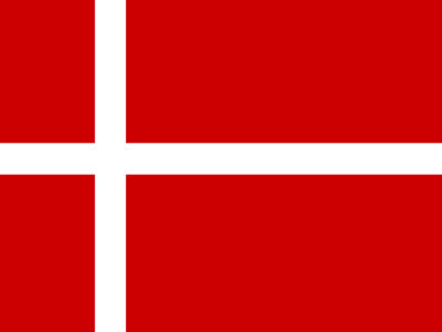 Denmark Flag PPT Background