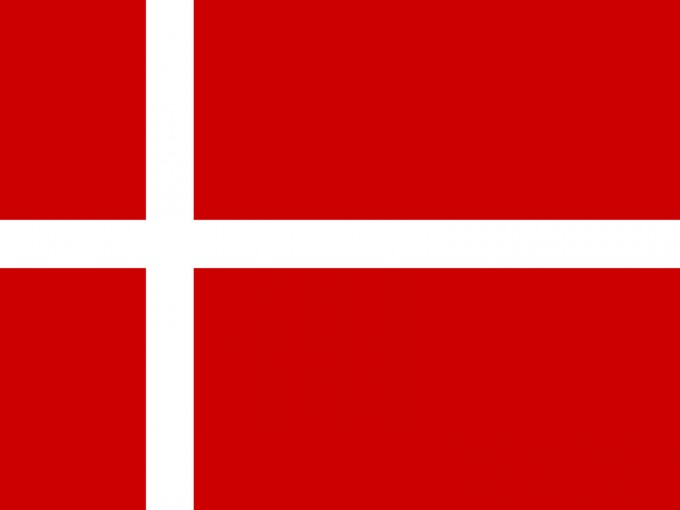 Denmark Flag Powerpoint PPT Backgrounds
